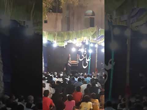 Allama Irtaza Abbas Naqvi Of Karachi Imam Bargha Baba Mandi 11blok Chichawatni