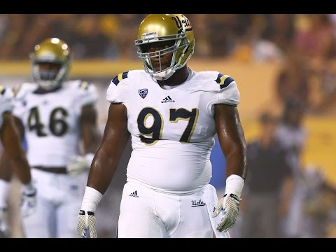 Kenny Clark (UCLA Defensive Tackle) 1st half Stanford Breakdown