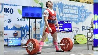 2015 IPF World Powerlifting Meet - Jonnie Candito