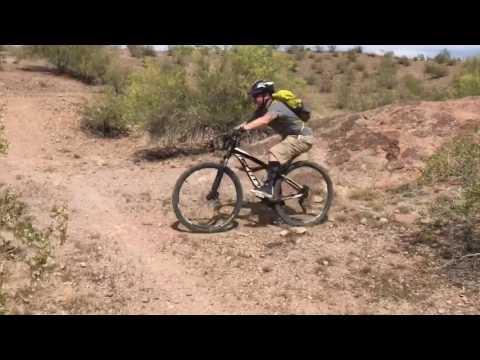 mountain bike riding in papago park, tempe, az