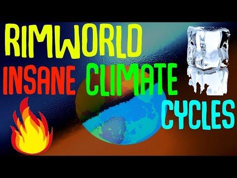 Insane Climate Cycles! Extreme Seasons! Rimworld Mod Showcase