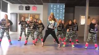Uptown Funk   Easy Kids Dance Fitness Warming up Zumba Choreography