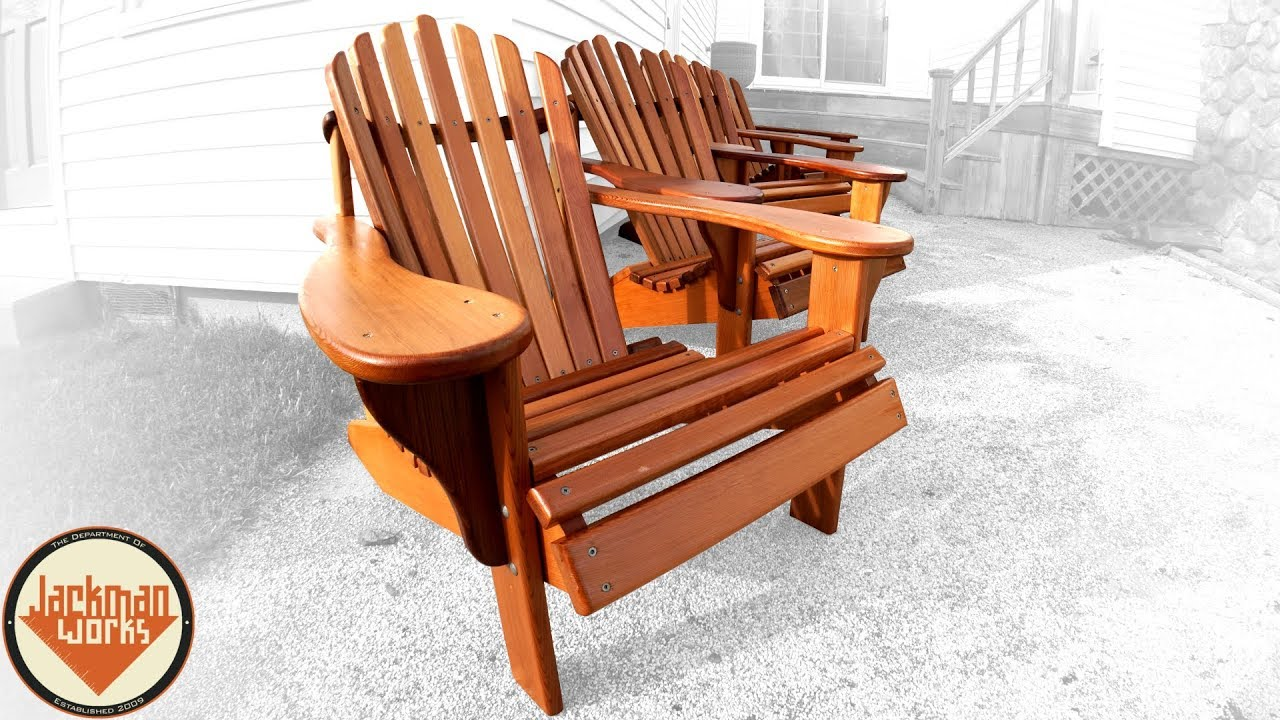 Adirondack Sessel How To Build The Ultimate Adirondack Chair