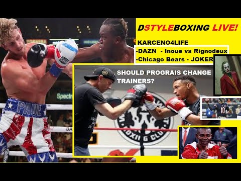 DAZN Looking To Do More Celebrity Boxing | Karceno 4 Life |DStyleBoxing LIVE!
