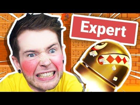 i tried EXPERT super mario maker 2 levels..