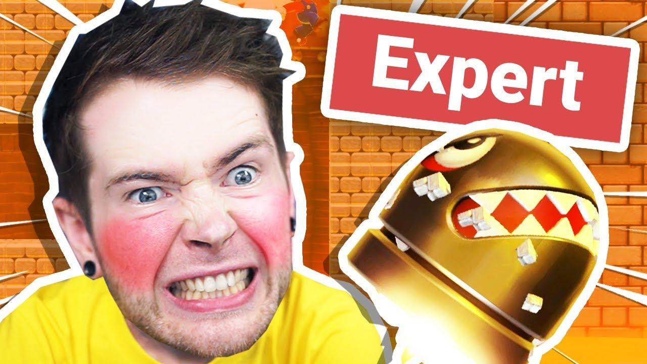 Ich habe EXPERT Super Mario Maker 2 Levels ausprobiert.  + video