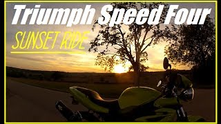 Awesome Sunset Ride - Speed Four OnBoard - Sony External Micro