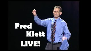 Fred Klett LIVE! | FULL Clean Comedy Special Live at the Riverside Theater | Comedian Fred Klett