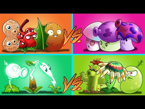 Plants Vs Zombies 2 Equipo Daño Perforante Vs Defensivo Vs Setas Vs Eléctrico