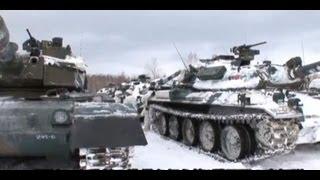 第2師団第3連隊冬期演習①