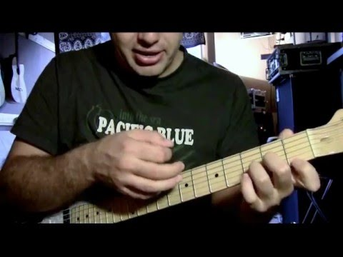 Easy song Counting Crows Mr.Jones guitar lesson for acoustic or ...