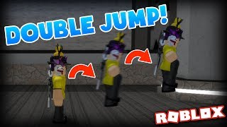 THIS MAP GIVES YOU INFINITE DOUBLE JUMP... | Flood Escape 2 on Roblox #70