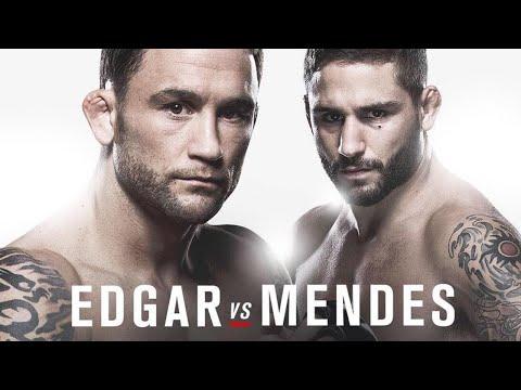 TUF22 Finale/UFC Fight Night 80 Conference Call (Edgar, Mendes, VanZant, Namajunas)