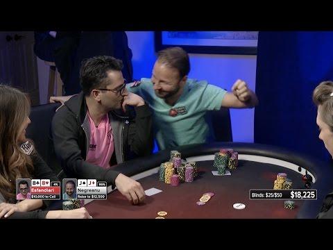 Negreanu vs Esfandiari - $100k Hand Showdown!