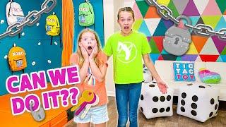 Secret Playroom ESCAPE RΟOM Challenge!