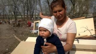 Новый ромский табор посреди Киева