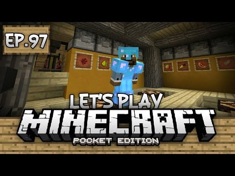 Survival Let's Play Ep. 97 - AUTO-BREWING STATION!!! - Minecraft PE (Pocket Edition)