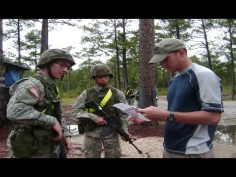 US Army 38B Civil Affairs / 37F Psychological Operations Class 0508 Graduation video