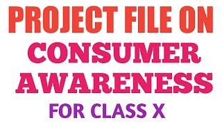 This video is based on the project work consumer awareness. i hope it will help you to make your project. (project credit gayatri) --------------------...