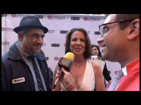 Boys in Tech s Tom Brown and Robin Weigert at Outfest LA 2016