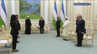 Президент Узбекистана принял Верховного имама Египта, руководителя комплекса Аль-Азхар