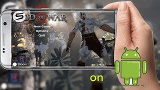 Play GOD Of WAR 4 on Andriod
