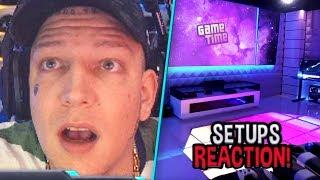 Das weltweit KRASSESTE Setup? 😱 Reaktion auf Gaming Setups 😎 MontanaBlack Reaktion