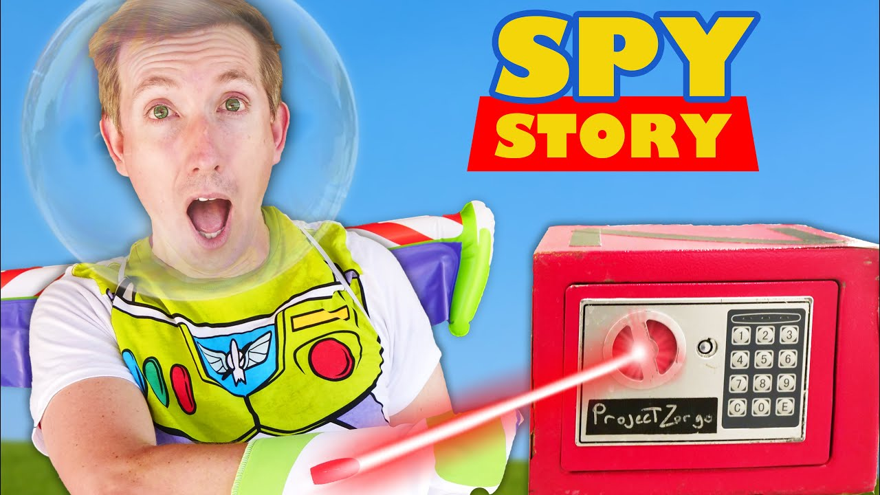 Download RED SAFE BLOWN OPEN! Spy Ninjas Playing Toy Story Challenges vs Hacker to Sneak into Friend Game