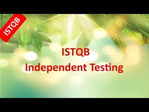 istqb-foundation-course.-independent-testing-with-sample-questions