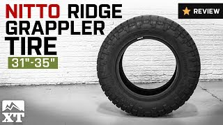 "Jeep Wrangler NITTO Ridge Grappler Tire (31""-35"") Review"