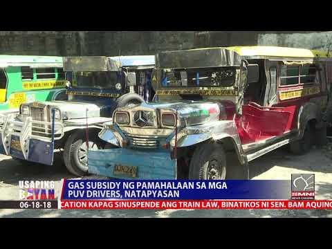 Gas subsidy ng Pamahalaan sa mga PUV Drivers, natapyasan