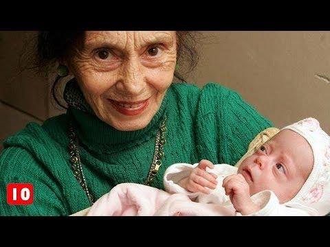 Οι 10 μεγαλύτερες σε ηλικία μητέρες! - Τα Καλύτερα Top10