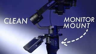 Mount a Monitor to the Ronin S   2 Best Ways