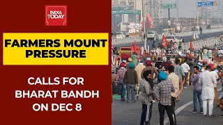 Farmers Call For A Bharat Bandh On December 8; Threaten To Intensify Stir