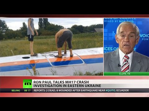 Ron Paul on MH17 downing and the crisis in Ukraine