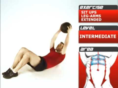 Upper Abs – Weighted Sit Up Exercise