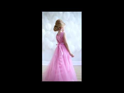 Нарядное платье Корнелия розовое