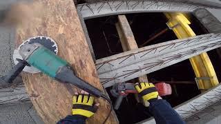 Jak zaszalować żebra rozdzielcze? Jak wykonać strop gęsto żebrowy? Budowa domu 2018