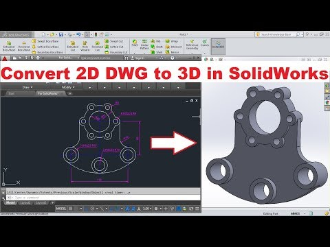 SolidWorks Import DWG