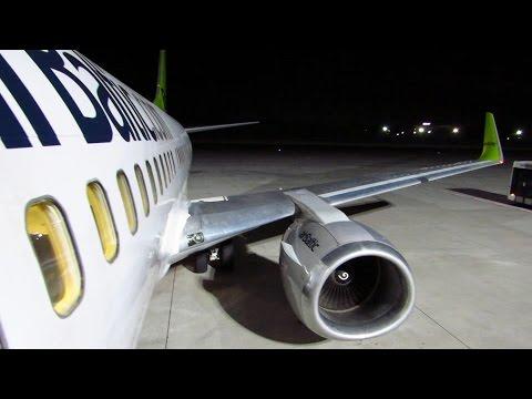 TRIP REPORT | Air Baltic | Riga to Berlin Tegel | Economy | Boeing 737-300WL [Full HD]
