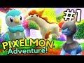 Minecraft Pixelmon Adventure Episode 1 - SO IT BEGINS! (Minecraft Pokemon)