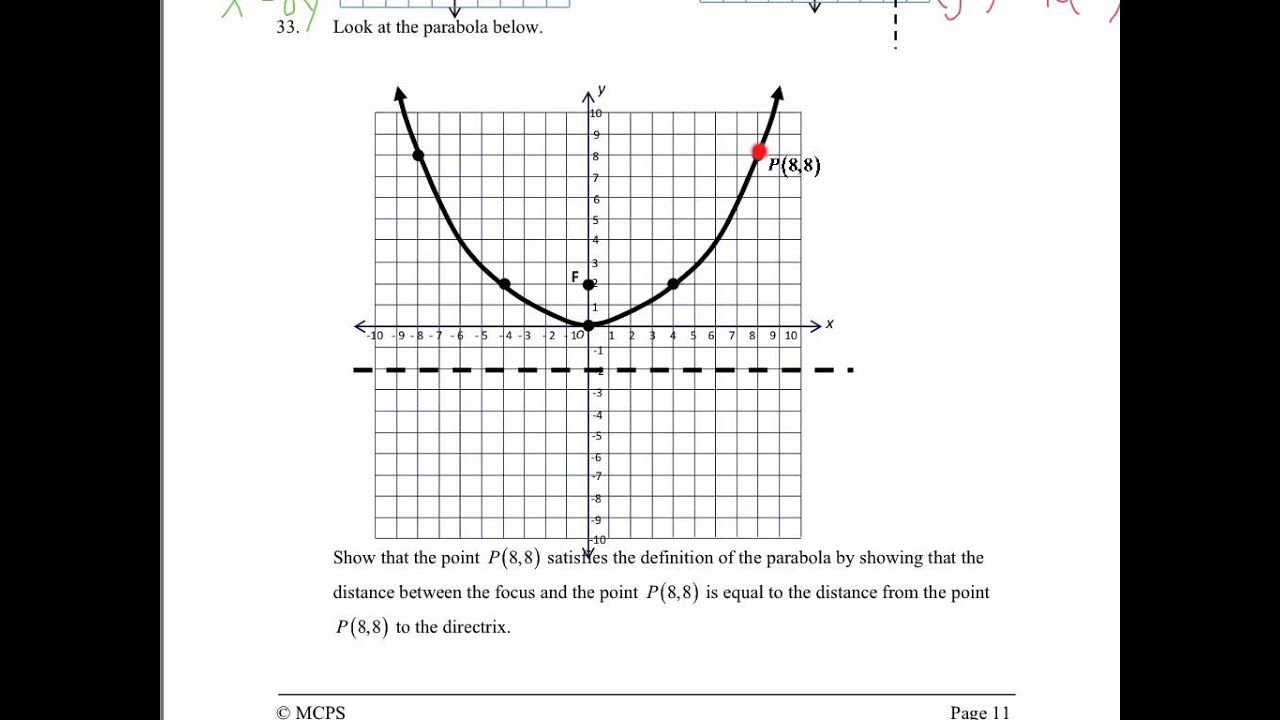 2015 Honors Geometry Exam Review - Unit 4 Topic 1 (Questions 16-44)