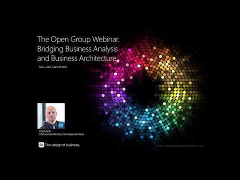 Webinar - Bridging business analysis and business architecture