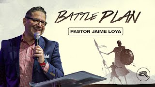 🔴CROSS CHURCH LIVE | Jaime Loya | What is your Battle Plan? | Cross Church RGV