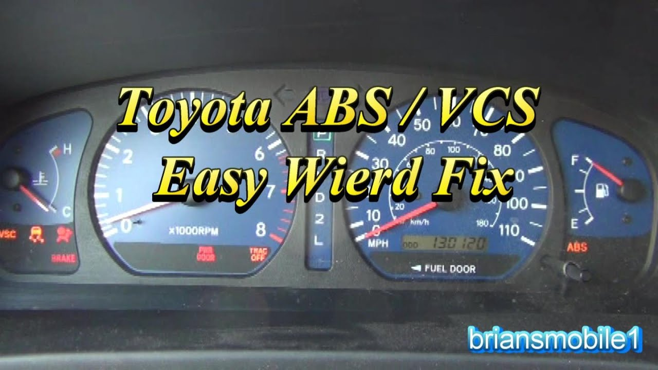 toyota abs vcs easy wierd fix p0420