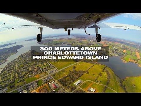 Flyout Over YYG Charlottetown