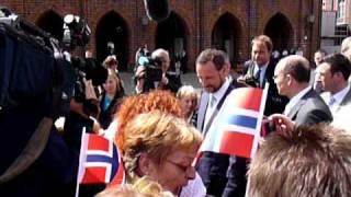 Mette Marit und Haakon in Stralsund 12.06.2010