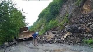 Обвал грунта ликвидирован на трассе в Чугуевском районе