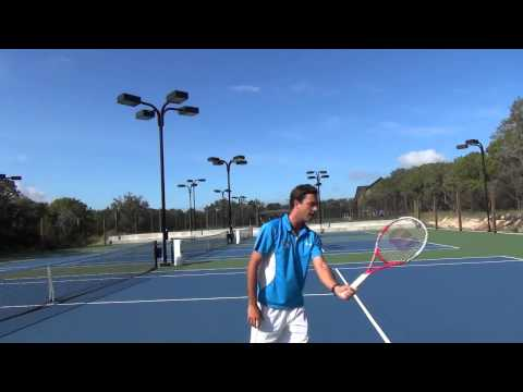 Cliff Drysdale Tennis Tips: The Forehand Volley
