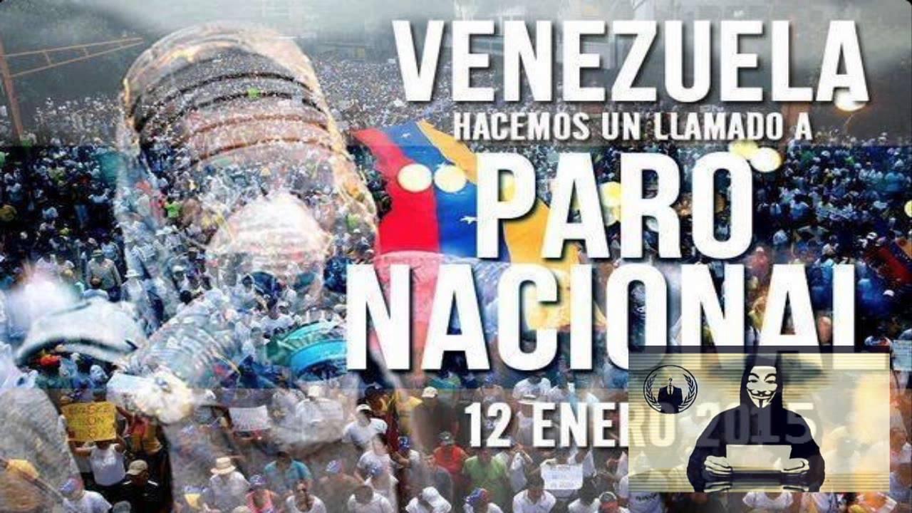 Paro Nacional:VENEZUELA-AnonymousNT - YouTube